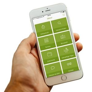 Zahn-App für Smartphone