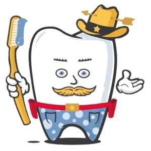Zahnheld Cowboy Kai und Zahnfee