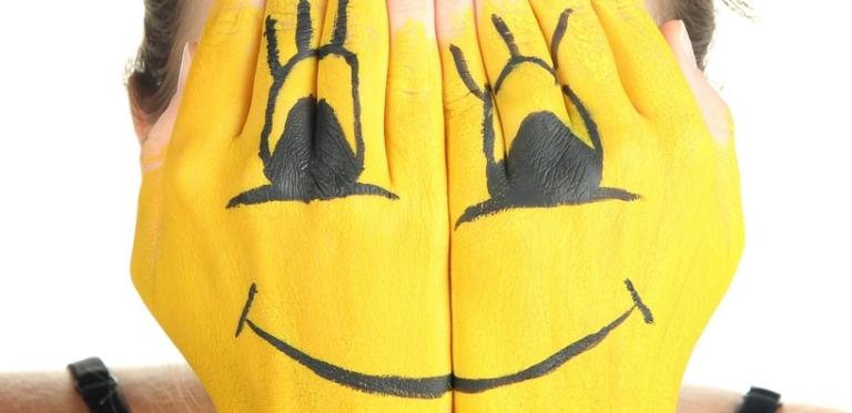 Smiley Hände