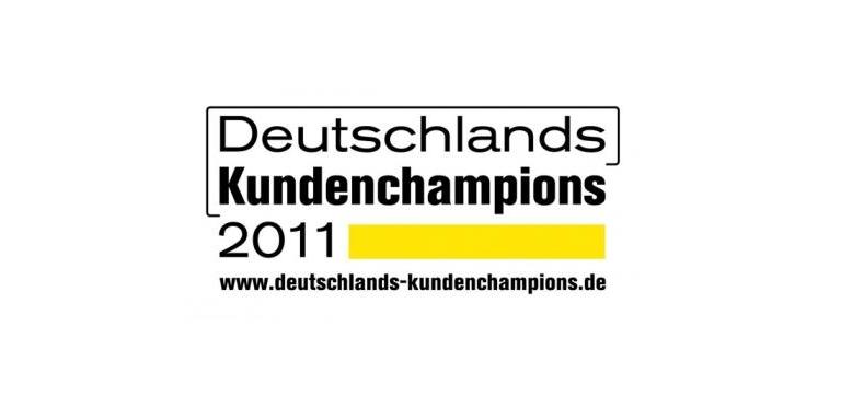 Logo Deutschlands Kundenchampions 2011