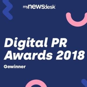 Logo Digital PR Award 2018 (Bild: mynewsdesk)